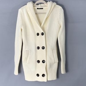 Patty Boutik Button Down Cardigan with Hood